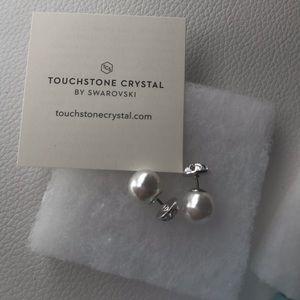 Flip Side Pearl Earrings
